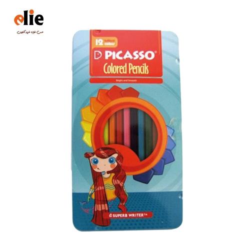 مداد رنگی 12رنگ پیکاسو