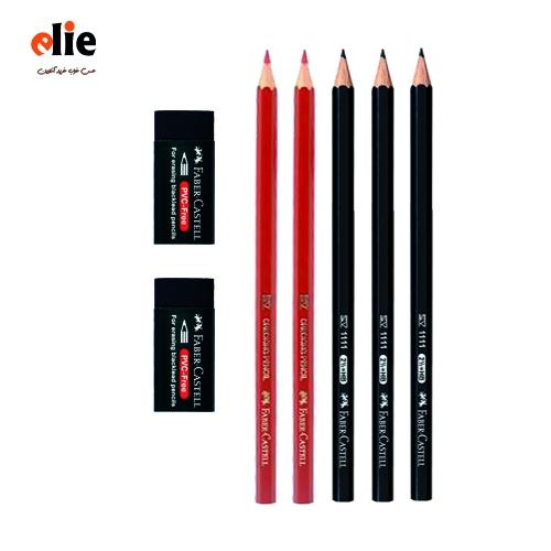 مداد فابر کاستل ست 7 تکه