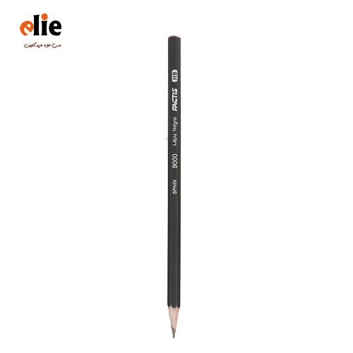 مداد مشکی فکتیس بسته 12 عددی
