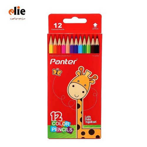 مداد رنگی 12 رنگ پنتر