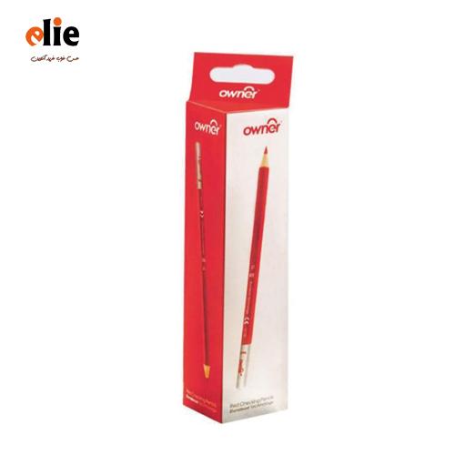 مداد قرمز اونر بسته 12 عددی