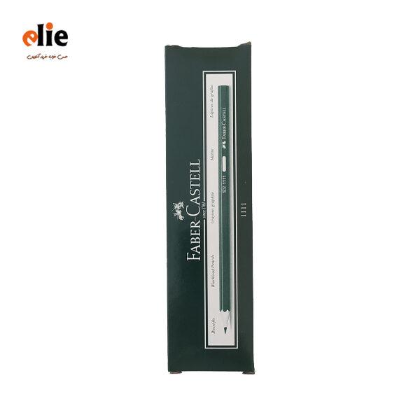 مداد مشکی فابر کاستل بسته 12 عددی
