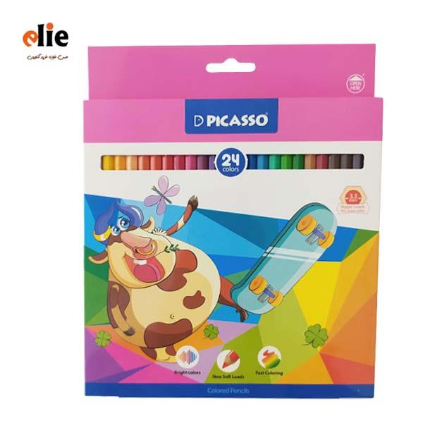 مداد رنگی پیکاسو 24 رنگ