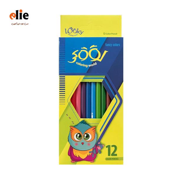 مداد رنگی لوکی 12 رنگ