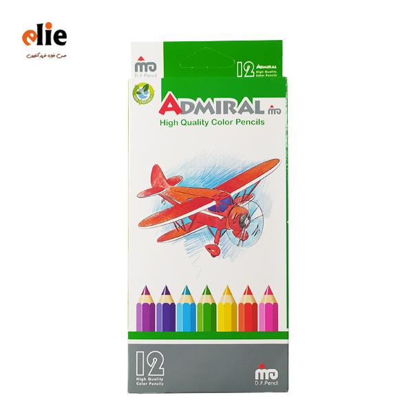 مداد رنگی 12 رنگ آدمیرال