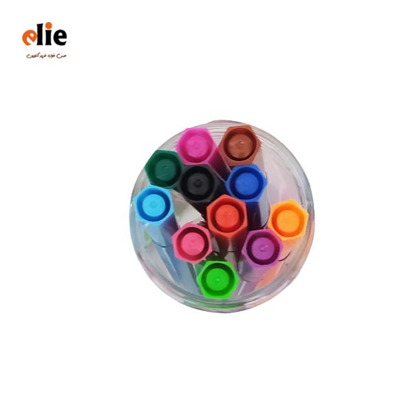 ماژیک 12 رنگ رنگ آمیزی