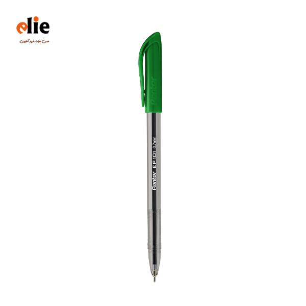 خودکار آبی پنتر 0.7 مدل EP101 بسته 50 عددی سبز