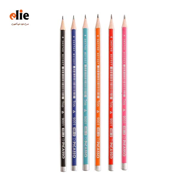 مداد مشکی پیکاسو سه پهلو تریو